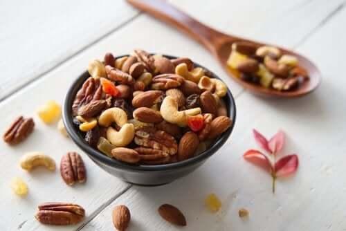 6 fruits secs qui augmentent votre énergie