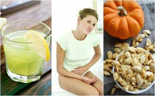 L'ascaridiose peut causer des douleurs à l'estomac.