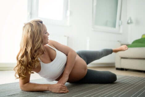 Des exercices pour une femme enceinte.