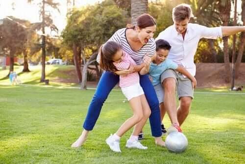 Faire une compétition en famille.