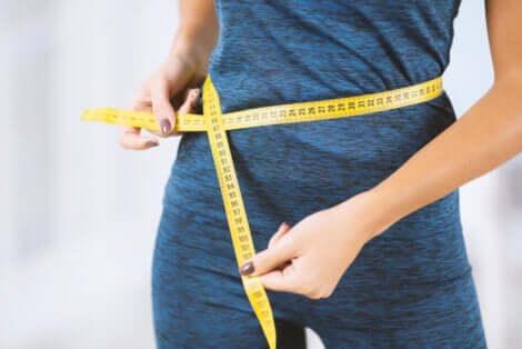 Le diamètre abdominal.