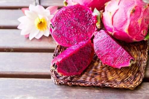 Le pitaya, un fruit exotique rose