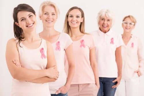Les différents stades du cancer du sein.