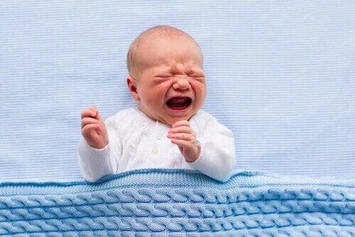 La colique infantile n'est heureusement pas dangereuse pour l'enfant.