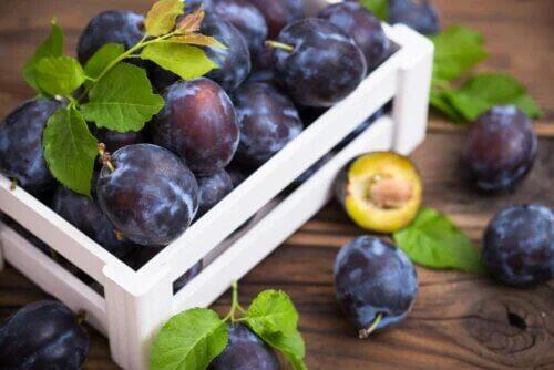 Types et variétés de prunes