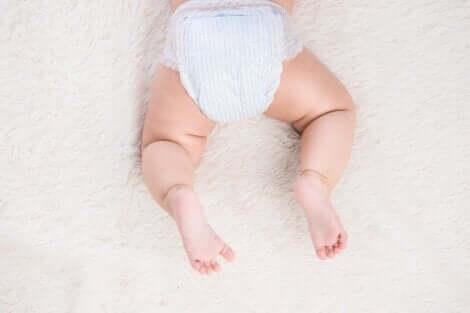 Couche de bébé.