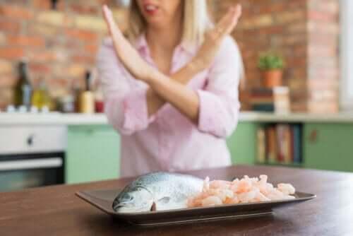 Allergie aux fruits de mer : symptômes, complications et traitement