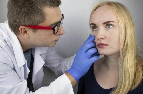 Une femme souffrant d'orthorexie.