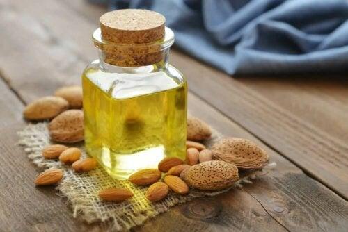 Les remèdes à l'huile d'amande sont sains et naturels
