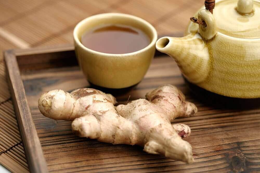 Infusion de gingembre pour apaiser la digestion.