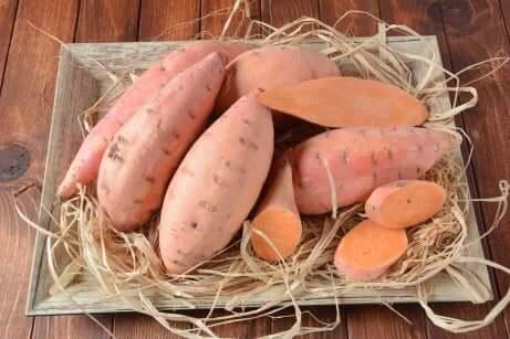 Des patates douces.
