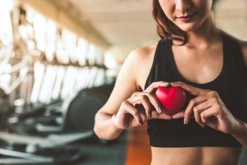 Faire du sport pour être en bonne santé.