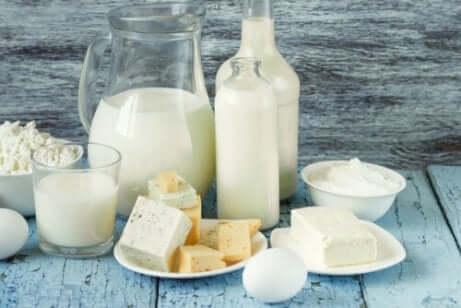 produits laitiers pour l'acide urique élevé