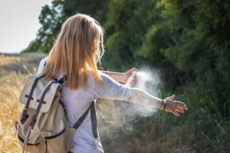 Répulsif contre les maladies transmises par les moustiques.