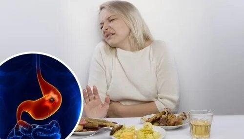 Un ulcère peptique peut causer un fort désagrément au malade