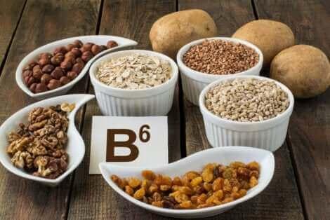 La vitamine B6.