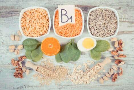 La vitamine B1.