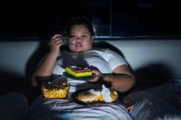 Hyperphagie ou avoir un appétit excessif