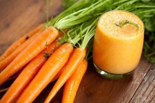 Recette de smoothie aux carottes et ses bienfaits