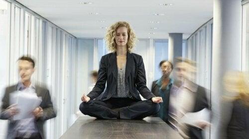 Le mindfulness au travail.