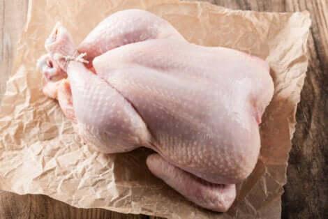 Un poulet frais.