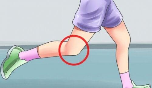 Le syndrome de Sinding touche le genou des adolescents.