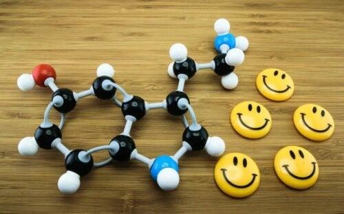 La fluoxétine agit sur la sérotonine.