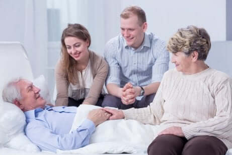 Les soins palliatifs contre l'Alzheimer.