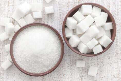 Du sucre blanc.