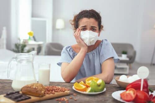 Les allergènes sur les étiquettes des aliments