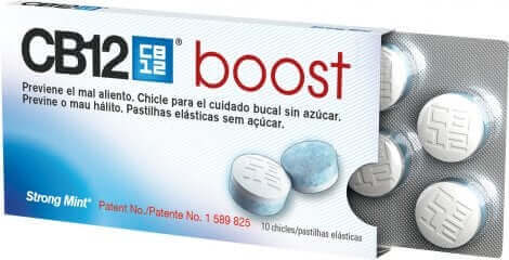 Chewing-gums CB12 Boost.