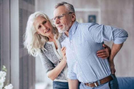 Un couple âgé.