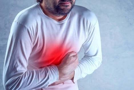 La gastro-entérite bactérienne.