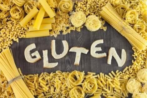 Aliments contenant du gluten.