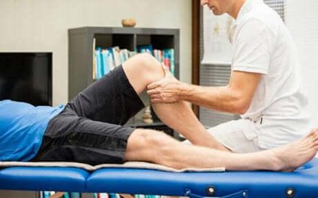 Massage sportif.