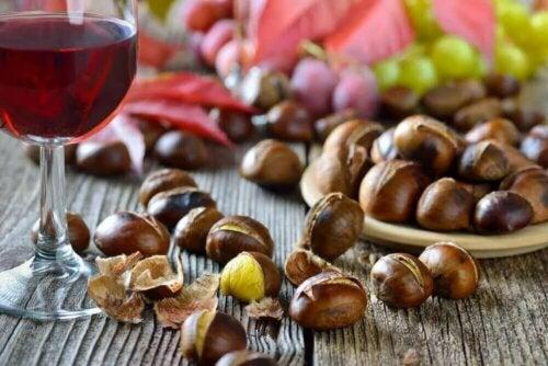 Les noix sont des aliments qui ne devraient pas être mélangés avec d'autres, comme le vin