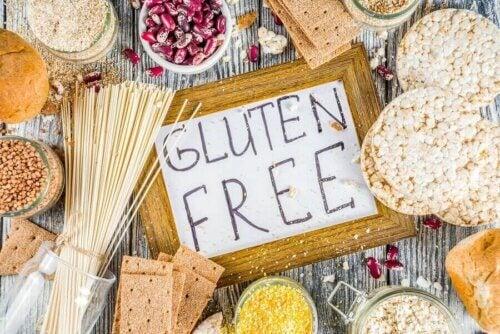 Un régime alimentaire sans gluten.