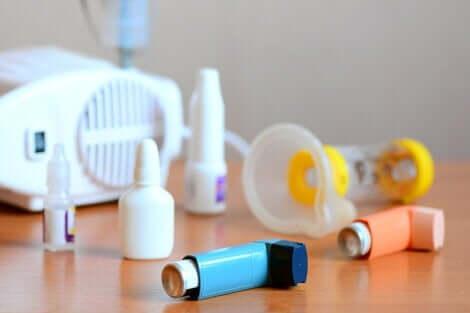 Traitement de l'asthme.