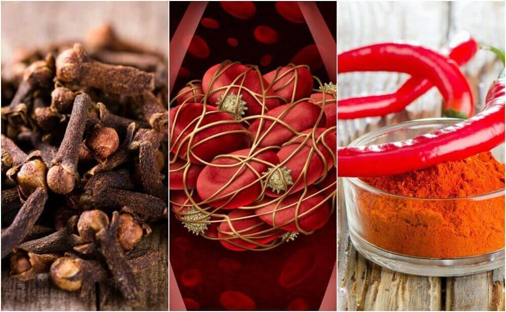 Des traitements naturels pour dissoudre les caillots de sang.