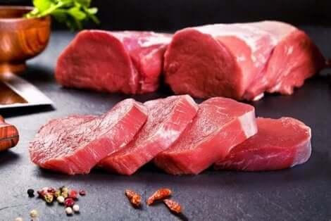 De la viande de veau.