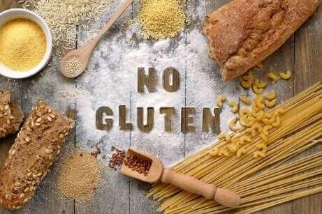Un régime sans gluten.