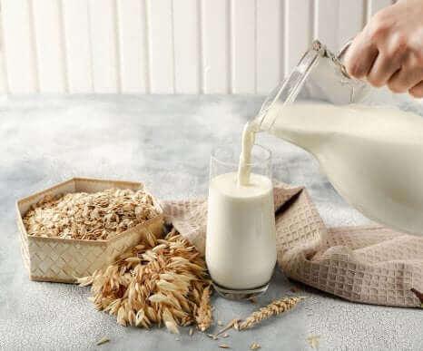 Le lait d avoine parmi les laits végétaux.