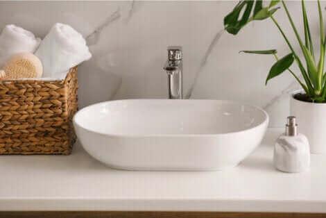 Un lavabo moderne.