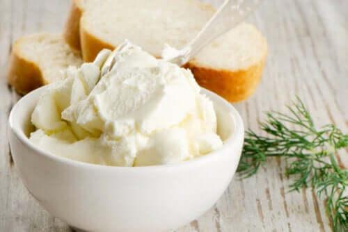 Le fromage à la crème est-il nutritif ?
