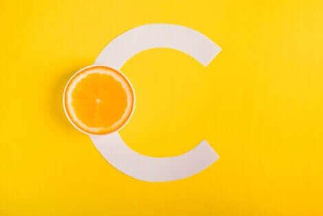Logo de la vitamine C.