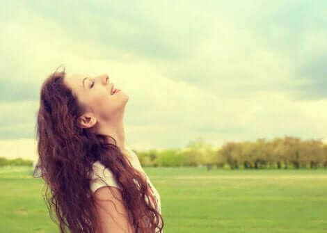 Le bonheur d'une femme.