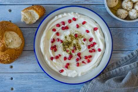 Du fromage labneh.