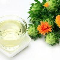 Fleurs et huile de carthame.