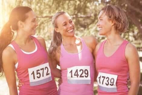 Sport et lutte contre le cancer du sein.