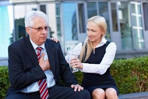Le stress au travail associé au risque d'infarctus